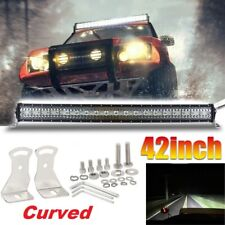 42inch 3600W Curved LED Light Bar Flood Spot Combo Off road Truck 4WD Pickup