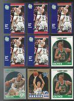 Mixed Card Lot #11 1991 Upper Deck 1991 Fleer Larry Bird HOF