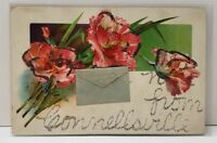 HOT FROM CONNELLSBURG PA to Waynesboro Pa c1910 Postcard B8