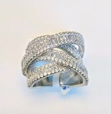 925 Sterling Silver CZ Stone Ring Size 6