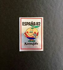 Panini World Cup España 82 Mascota Naranjito Number 3 Whith Original Back