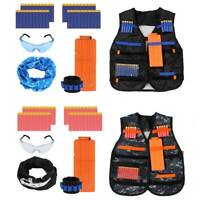 2 Set Kids Tactical vest suit Kit Set For Toy Guns  Series Outdoor Game