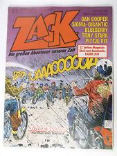 ZACK 1979 Nr.  5 ( Koralle ) mit Formel 1 Sammelbild, mit Sammelecke