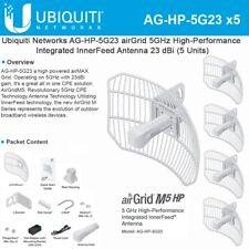 Ubiquiti AirGrid  AG-HP-5G23 US 5 PACK Complete antenna and radio system.