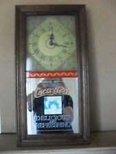 Vintage Coca cola Wall clock in original condition