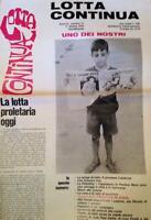 GIORNALE LOTTA CONTINUA ANNO II NUMERO 17  OTTOBRE 1970