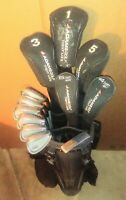 NICE Ladies Adams IDEA Tight Lies Complete Set 12 Woods,Hybrids,Irons,Putter,Bag