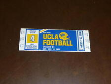 1985 OREGON STATE AT UCLA COLLEGE FOOTBALL FULL TICKET EX-MINT