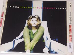 TRISHA YEARWOOD : Everybody Knows  > EX (CD)