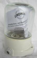 Lindner Lisilux Decken Wand Leuchte Sauna 60W E27 IP54 Lampe Glas klar Wagenfeld