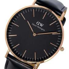 NEW Daniel Wellington DW00100127 Classic Sheffield Black Watch RRP $329