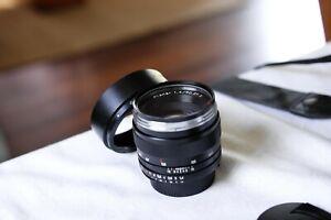 Carl Zeiss Planar 50mm F/1.4 ZF.2 Lens Nikon F