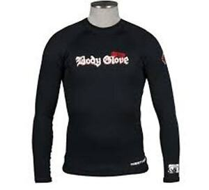 BODY GLOVE 0.5mm Insotherm Long Sleeve Surf Shirt Rashie size is mens medium