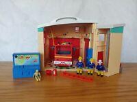 Fireman Sam Electronic Ponty Pandy Fire Station Plus Fire Engine & Figures 🔥