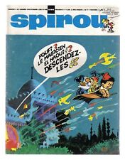 SPIROU N°   1598  DU 28/11/1968 BE