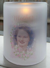 Personalised Candle Holder - Urn Ashes Cremation Burial Headstone Funeral Death