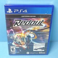 PS4 Redout: Lightspeed Edition (Sony PlayStation 4, 2017) BRAND NEW FACTORY SEAL