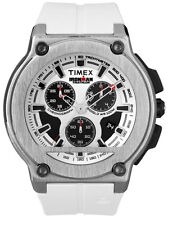 Timex Ironman DRESS Cronografo t5k352 Sportuhr (PU-BAND BIANCO) - UVP 199,90eur