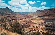 Arizona AZ Salt River Canyon Showlow Postcard