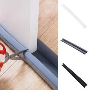 95cm Flexible Door Bottom Sealing Strip Guard Wind Dust Door Stopper Protector