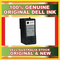 2 X Genuine Dell Original Series 5 M4640 Black Ink Cartridge New