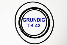 SET BELTS GRUNDIG TK 42 REEL TO REEL EXTRA STRONG NEW FACTORY FRESH TK42