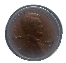 1915 D Lincoln Wheat Cent Bronze Penny 1c Coin Collectible
