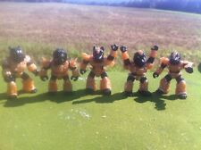 Battle Beasts Laser Beasts Royal Nubian Guard Lot of 5 American made