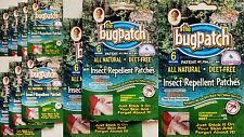 10 settimane alimentazione (X60) di insetto repellente per insetti patch toppe naturale e impermeabile