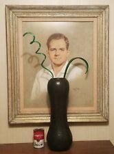 "16.5"" HONOLULU reid ozaki vtg studio art pottery vase stoneware japanese seattle"