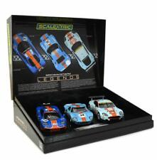 Scalextric Slot Car ROFGO Collection Gulf Triple Pack. C4109A