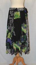 Alberto Makali Belted Tie  Wrap Knit Skirt Size M
