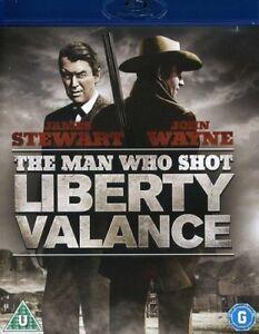 The Man Who Shot Liberty Valance [Blu-ray] [1962] [Region Free] [DVD][Region 2]