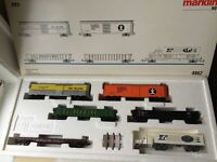 Marklin H0 4862 USA Freight Car Set I - LNIB - Era III