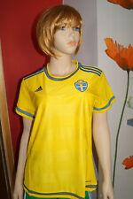 Adidas Suecia Svff H Jsy W Wc 2014/15 Jersey Camiseta Mujer Wmns Xs S M L