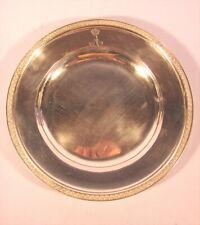 Rarer alter Silberteller Adel Württemberg um 1800