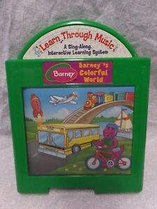 Learn Through Music Barney's Colorful World Cartridge