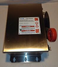 Eaton/Cutler Hammer Dh362Uwkx 60A-600V Stainless steel disconnect nonfusible