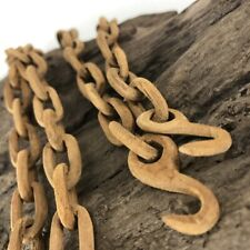 Vintage Wooden Chain Carving Rare Carved Wood Folk Art Craft Sculpture 39""