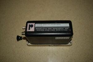 ^^ PRODUCTS FOR RESEARCH PR1405RF PHOTOMULTIPLIER TUBE HOUSING