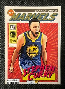 Stephen Curry - 19/20 Donruss Hobby - 1st Year Marvels PRESS PROOF