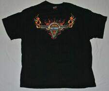 Harley Davidson Santa Cruz California T-Shirt  SZ XL Black