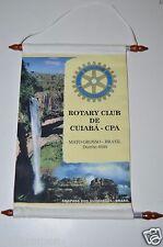 Vintage De-Cuiaba-CPA Mato Grosso Brasil Brazil Rotary Club International Banner