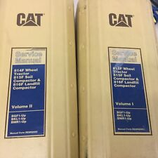 CAT Caterpillar 814F 815F 816F SERVICE SHOP REPAIR MANUAL COMPACTOR BGF BKL BMR