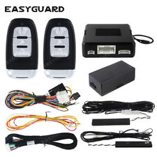 EASYGUARD PKE remote engine start compatible with factory OEM push start button