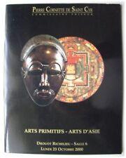 ART PRIMITIF AFRICAIN & OCEANIEN - CATALOGUE VENTE CORNETTE 23 OCTOBRE 2000