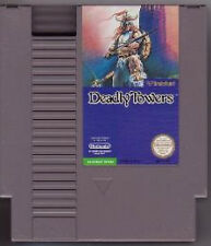 DEADLY TOWERS ORIGINAL NINTENDO GAME SYSTEM NES HQ