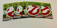 Ghostbusters Vinyl Logo Decal 3M Brand New (Lot of 4)