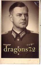 Foto PK Portrait Polen 43 Siedlce Reserve Kriegslazarett Offizier Leutnant+ orig