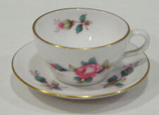 VINTAGE SPODE MINI / MINIATURE BILLINGSLEY ROSE SPRAY  CUP & SAUCER NEW